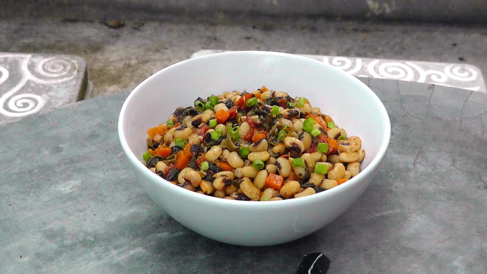 vegan-vegetarisches-griechisches-rezept-schwarzaugenbohnen