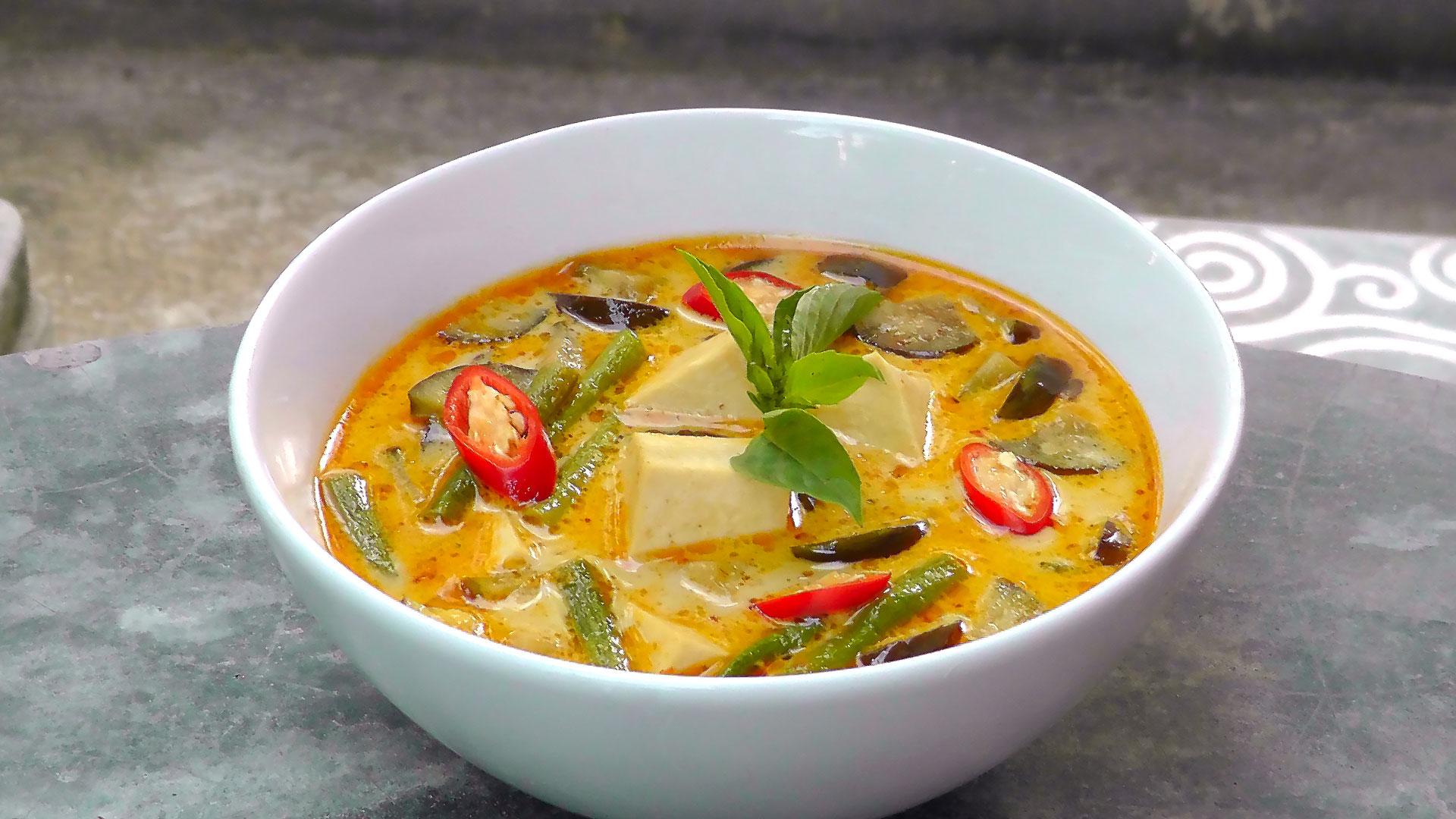 Thai Rezept: Rotes Curry