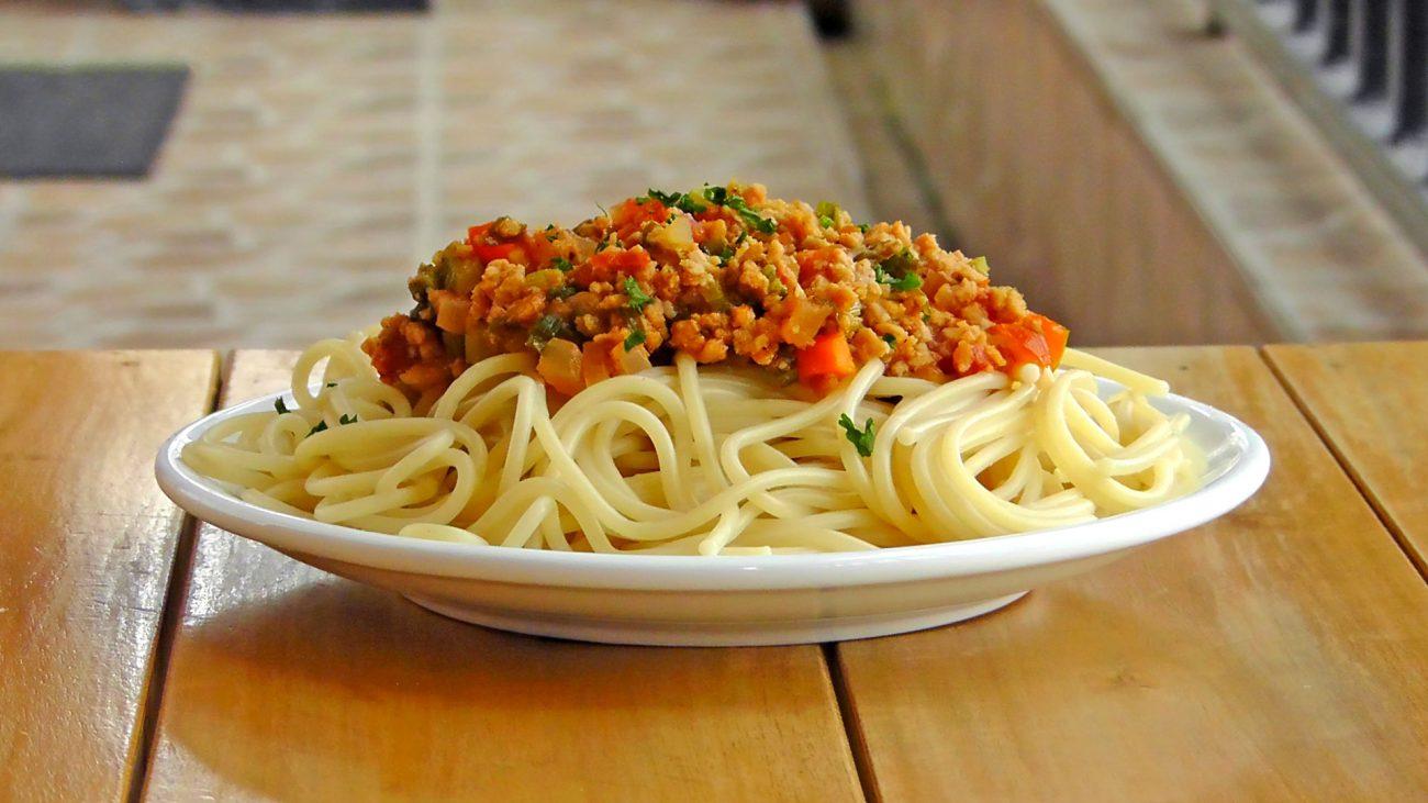 vegetarische-bolognese-pasta