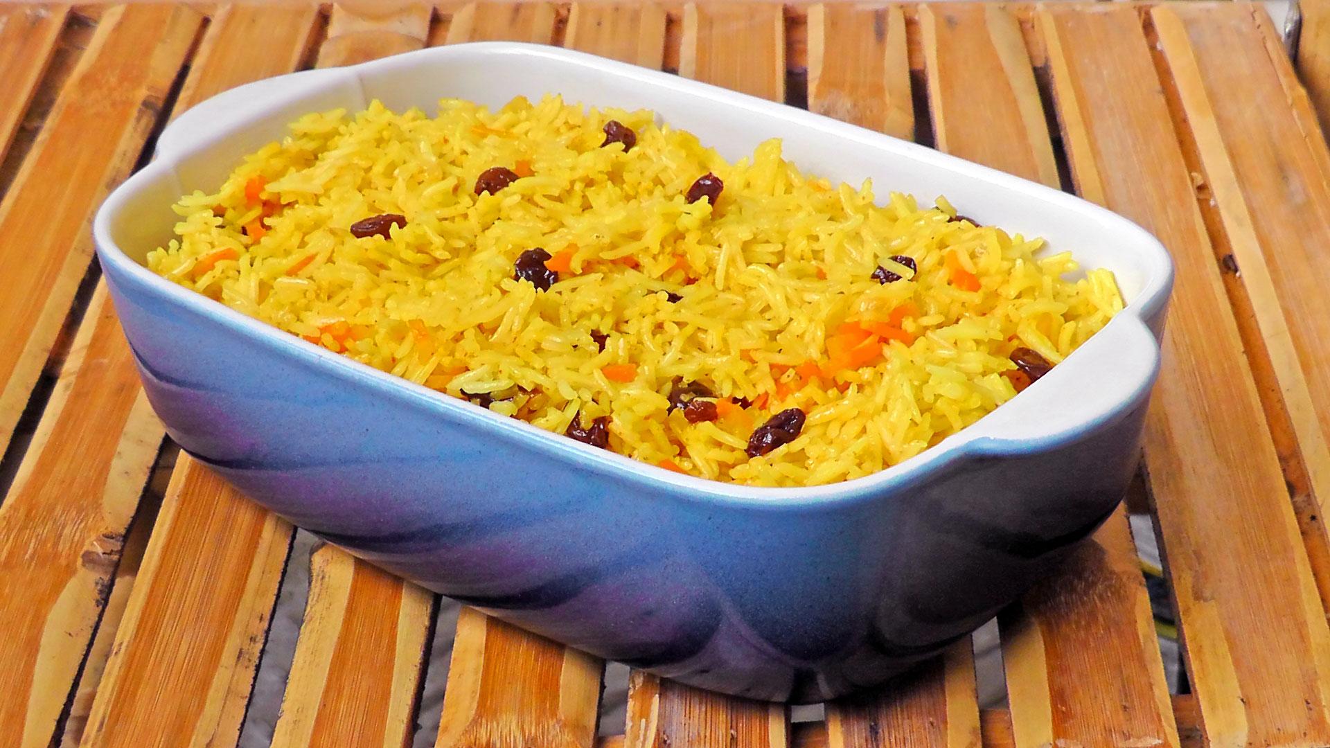 Reis-mit-Rosinen-Rezept
