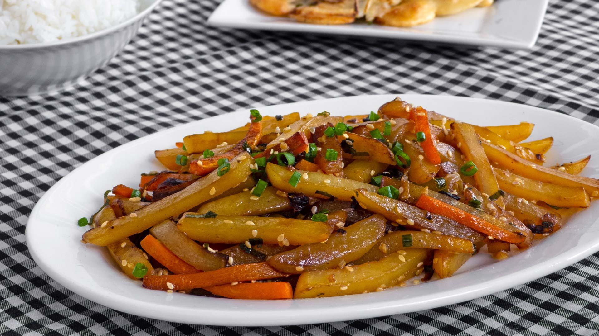 koreanisch-vegetarisches-rezept-kartoffeln